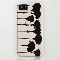 Carnations_Black iPhone Case by Garima Dhawan | Society6