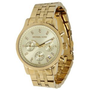 Michael Kors MK5676 Ladies Gold Plated Chronograph Watch: Watches: Amazon.com