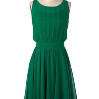 Grecian Green Dress