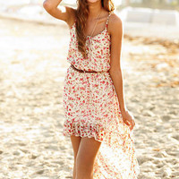 dELiAs &gt; Floral Strappy High Low Dress &gt; dresses &gt; pattern