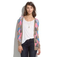 Fairweather Cardigan in Harlequin - sweaters - Women's NEW ARRIVALS - Madewell