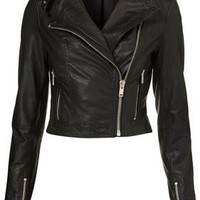 Heartbreaker Studded Leather Jacket - Jackets & Coats - Apparel - Topshop USA