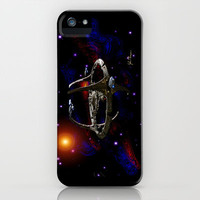 Deep Space 9 iPhone Case by JT Digital Art