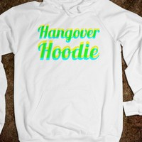 Hangover Hoodie (Blue and Yellow)