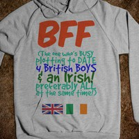 BFF - The One Who is Plotting to Date 4 British Boys and an Irish - Connected Universe