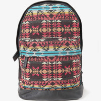 Faux Leather Southwestern Backpack | FOREVER 21 - 1027704984