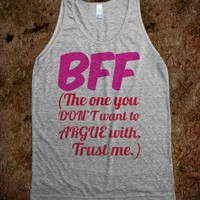 BFF - The One You Don't Want to Argue With - Connected Universe