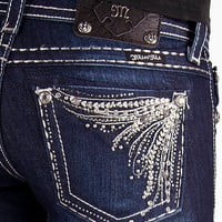 Miss Me Glitz Straight Stretch Jean - Women&#x27;s Jeans | Buckle