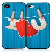 I Love You iPhone Case For Lovers
