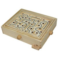 INFMETRY:: Wooden Labyrinth Puzzle - Funny - Toys