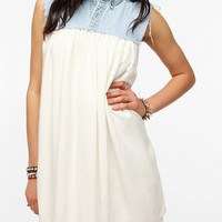 Urban Renewal Chambray Tent Dress