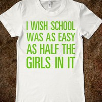 I Wish School Was Easy - Text First