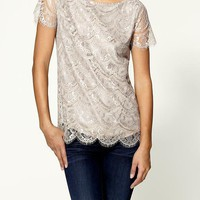 Sabine Vintage Lace Blouse | Piperlime