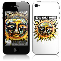Zing Revolution MS-SUBL30133 iPhone 4- Sublime- Sun White Skin