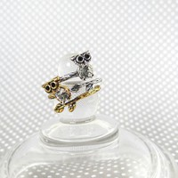 $5.99 + free s/h | Vintage Inspired Owl Wrap Rings | Facebook