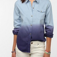 BDG Dip-Dye Oxford Button-Down Shirt