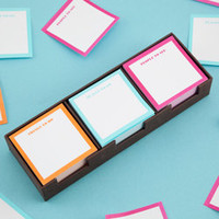 Kate Spade Sticky Note Set - See Jane Work