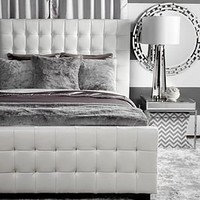 West Street Bed - White | Beds | Bedroom | Furniture | Z Gallerie