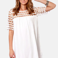 Baby Got Soul Ivory Dress