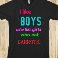 Who Like Carrots. - you&#x27;d never think five boys on a set of stairs would change the world.