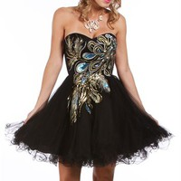 Balbina-Black Prom Dresses