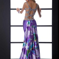 Jasz Couture Dress 4539 at Peaches Boutique