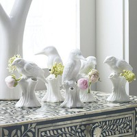 Purist Bird Vases