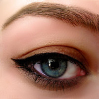 On Sale All Natural Mineral Makeup Gel Eyeliner INTENSE BLACK  Easy to Use     Organic Ingredients