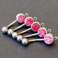 Add a Charm Belly Rings / add a Dangle Belly Button by RockTHAT