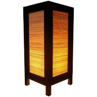 Amazon.com: Handmade Table Lamp Asian Oriental Japan Bamboo Decor Cheap Price Made From Thailand: Everything Else