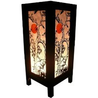 Amazon.com: Handmade Table Lamp Asian Oriental Sun Elephant Decor Cheap Price Made From Thailand: Everything Else