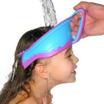 Amazon.com: Lil Rinser Splashguard in Blue and Pink: Baby