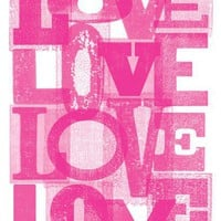 Lots of Love Print - Fun Prints - Wall