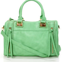 Brogue-in&#x27; Dreams Mint Handbag by Urban Expressions