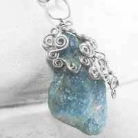 March, the Aquamarine Gemstone curated by Gonet  on ArtFire.com