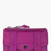 Proenza Schouler Ps1 Small Purple Zip Wallet for women