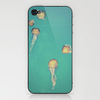 Jellyfish iPhone &amp; iPod Skin by Hannah Kemp | Society6