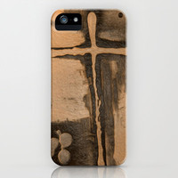 Trinty and the Cross iPhone Case by Bruce Stanfield