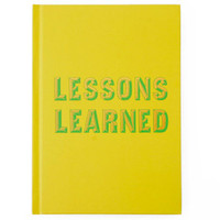 Lessons Learned Journal