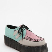 T.U.K. Colorblock Suede Creeper