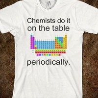 Chemist do it on the table