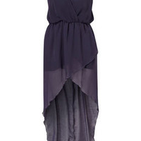 Cross Bust Asymmetric Maxi Dress by Love** - Dresses  - Clothing  - Topshop