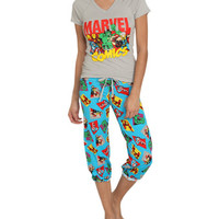 Marvel Capri Sleep Set | Shop Intimates at Wet Seal
