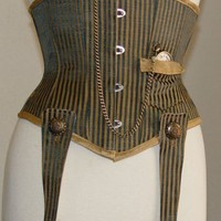 Hands of Time Underbust Corset
