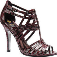 Isola Benne - Red Snakeskin - Free Shipping & Return Shipping - Shoebuy.com