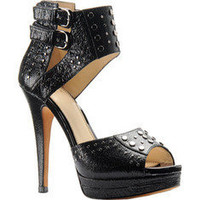 Isola Dacona - Black Cracked Print Leather - Free Shipping & Return Shipping - Shoebuy.com
