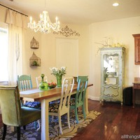 All Things Thrifty Home Accessories and Decor: Interior Decorating a cottage style kitchen, Jill?s House reveal part 3