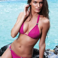 Crystal Slider - Pomegranate - Despi - Swimwear
