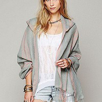 Free People  Clothing Boutique &gt; Hooded Poncho