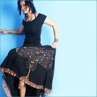 little buddha maxi skirt (Q1004)